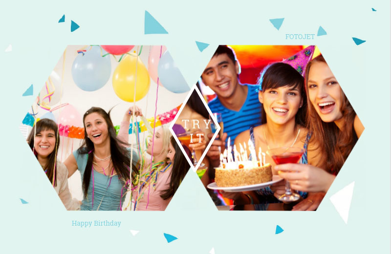 Numerous Birthday Collage Ideas Inspired by FotoJet to Design Collages