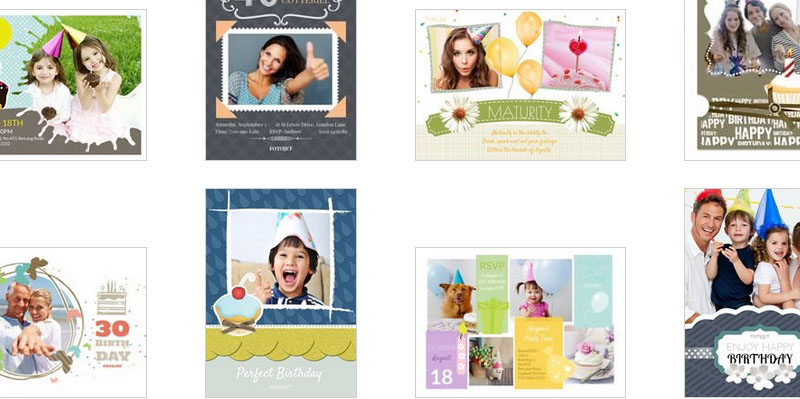 Birthday Collage Ideas and Templates