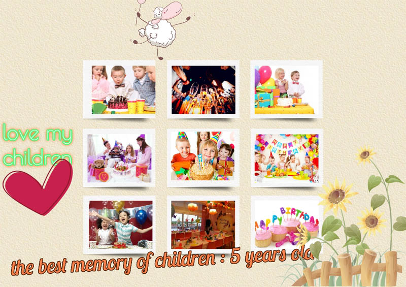 Good Ideas To Make Your Happy Birthday Photo Collage
