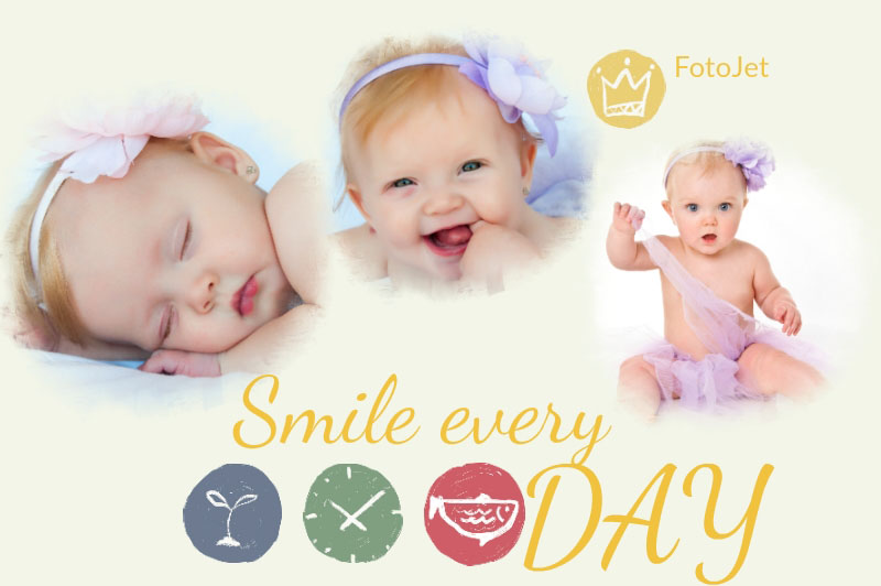 Brilliant Baby Collage Ideas Help Users to Create Fascinating Baby ...