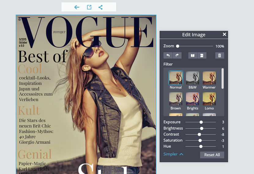 make your own magazine cover template - create your own magazine cover in an awesome way