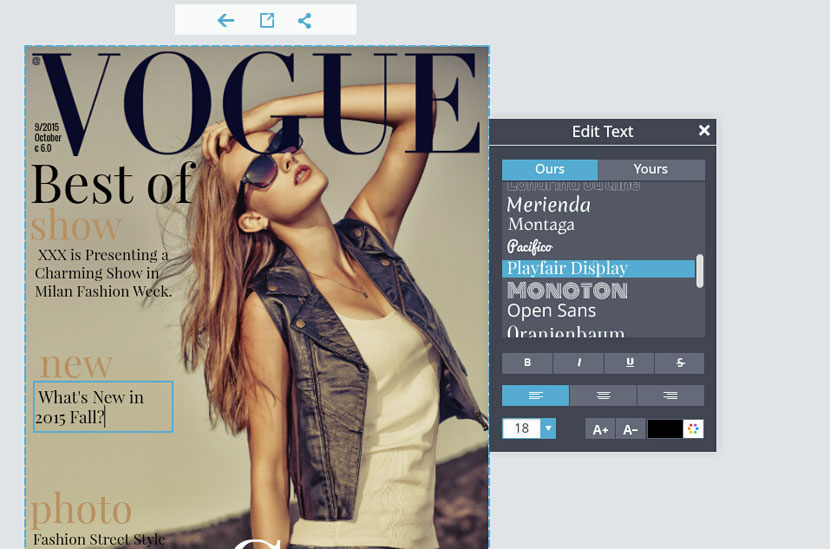 Custom Magazine Cover Templates. magazine cover maker make your ...