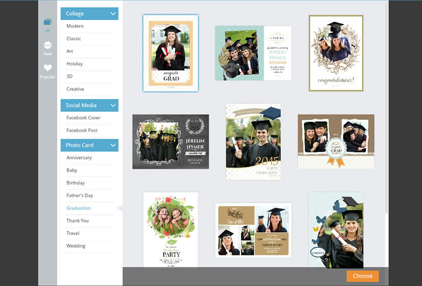 Choose Graduation Invitation Template