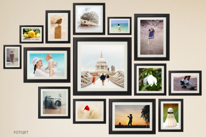 creative wall collage ideas give you a hand on making wall photo