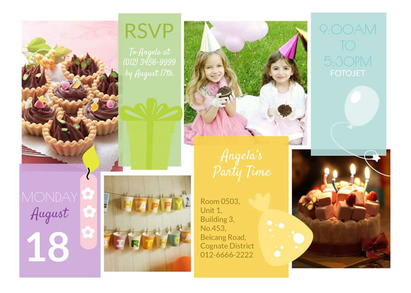 Save Or Share Your Birthday Card