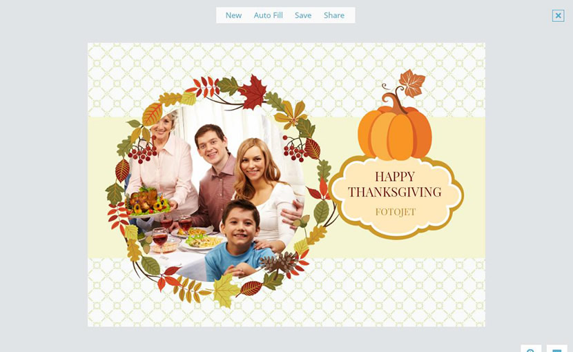 Edit Thanksgiving card