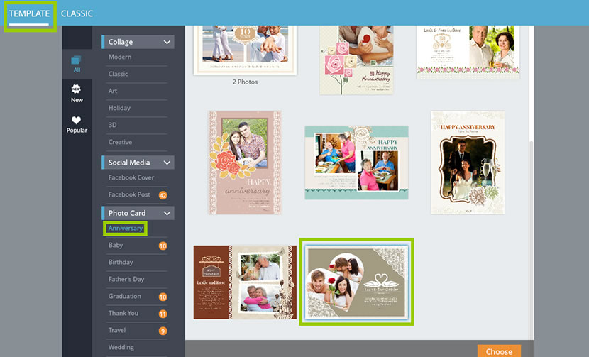 card editor online