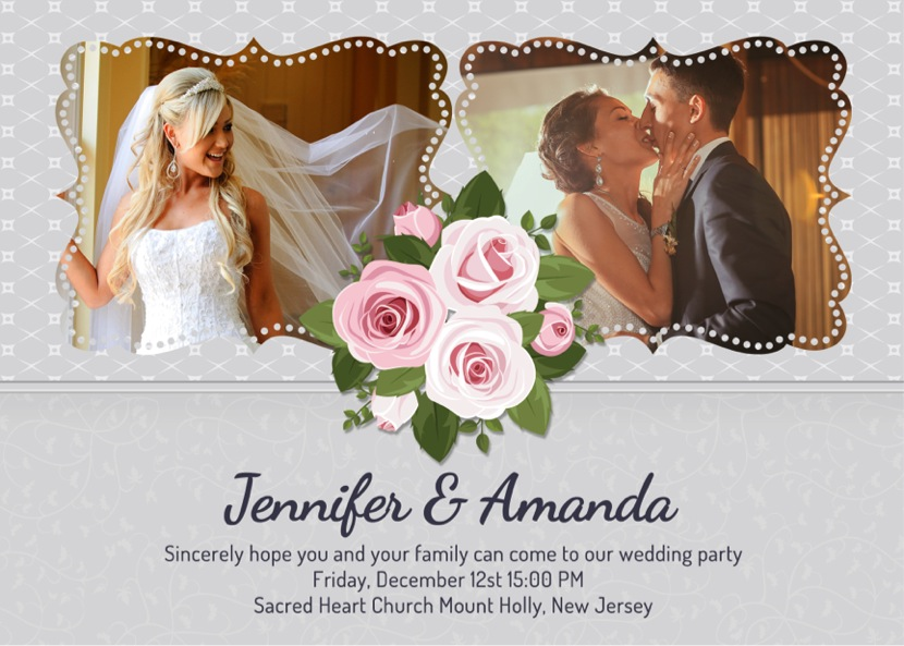 Wedding Invitation Picture Ideas: Wedding Invitation Ideas: Personalized Wedding Invitations