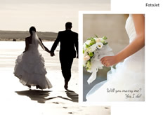 classic wedding collage sample