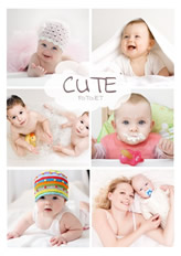 cute collage sample