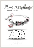 jewelry sale poster