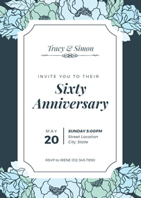 Make Your Own Anniversary Invitations Online Fotojet
