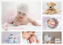 adorable baby collage