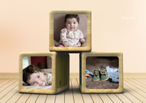 Baby Collage Maker - Make Baby Photo Collages Online | FotoJet