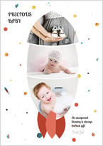creative baby collage