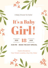 Free Online Baby Shower Invitation Maker