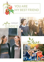 Friendship photo montage