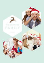 family photo christmas collage