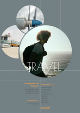 Travel collage poster