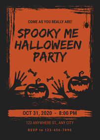 Design Your Halloween Invitations Online Fotojet