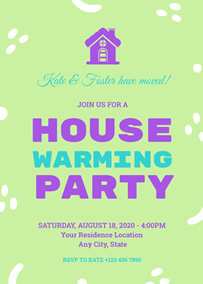 Make Housewarming Invitations Online With Free Templates