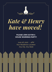 Make Housewarming Invitations Online With Free Templates Fotojet