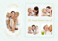 mother ans kids collage