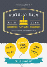 make party flyers online