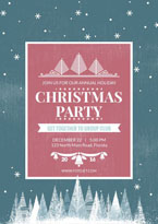 Xmas party poster