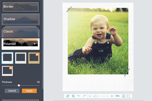 Add Photo Frames To Your Photos Online Fotojet