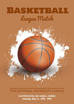 education basketball poster