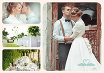 great wedding collage