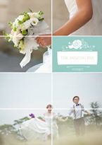 classic wedding collage