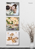 art wedding collage