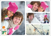lovers winter collage