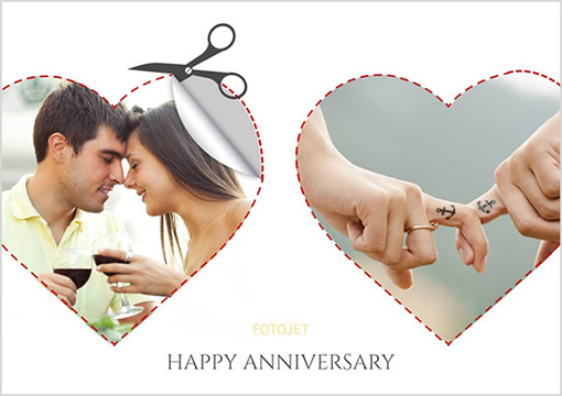 anniversary collage