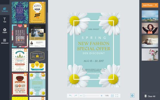 Flyer Maker Create a Flyer Design Online with Free Templates – Advertisement Flyer Maker