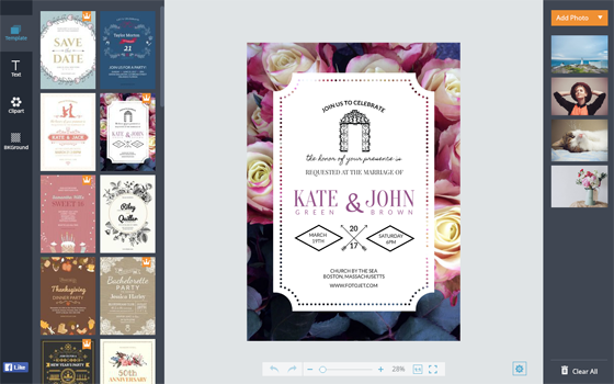 Online Invitation Maker Design Invitation Cards with Free – Card Invitation Maker
