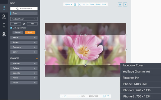 Image Cropper - Crop Pictures and Photos Online for Free