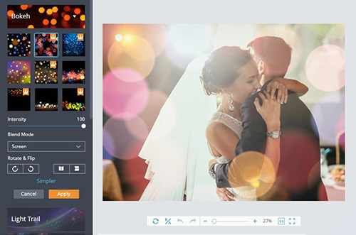 Free Overlays - Add Overlays to Photos Online | FotoJet