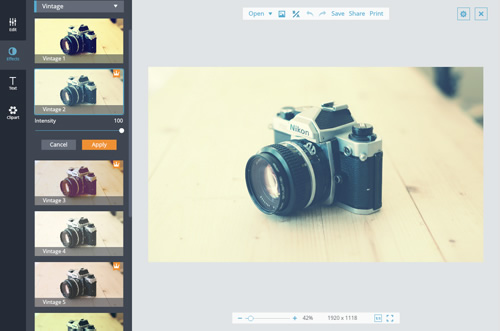 Photo Effects - Free Online Photo Filters and Effects | FotoJet