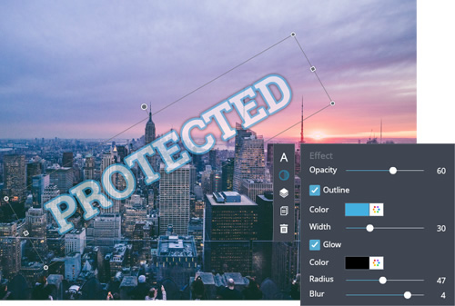 Watermark Maker – Create Watermarks for Photos Online | FotoJet