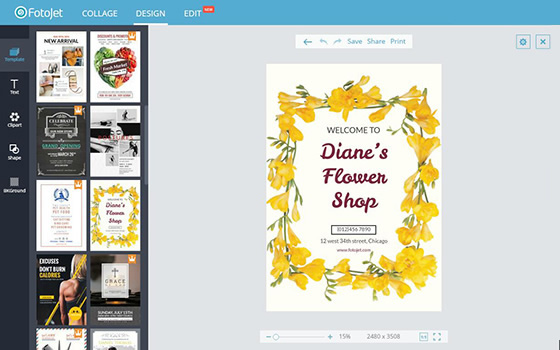 Online Poster Maker Design Your Own Posters Easily Fotojet