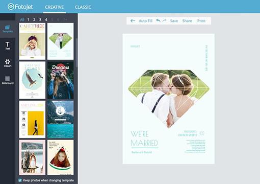 Wedding poster maker design your wedding posters online for Blueprint maker online
