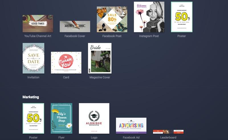 FotoJet Designer Tutorial - Facebook ad design template