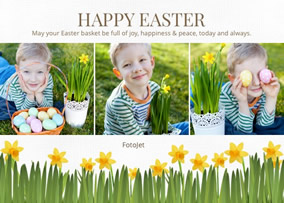 Easter photo collage
