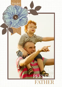 photo card of Father's Day