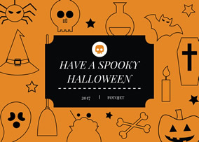 Halloween Pop Up Cards Templates.Card Maker Make Custom Cards To Send Your Invitations
