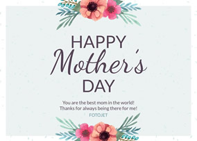 Mothers day cards create mothers day greeting cards online fotojet happy mothers day card m4hsunfo