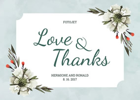 Wedding Thank You Cards Make Free Printable Thank You Cards for